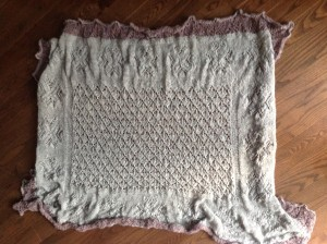 Karukell Shawl Knit By Me