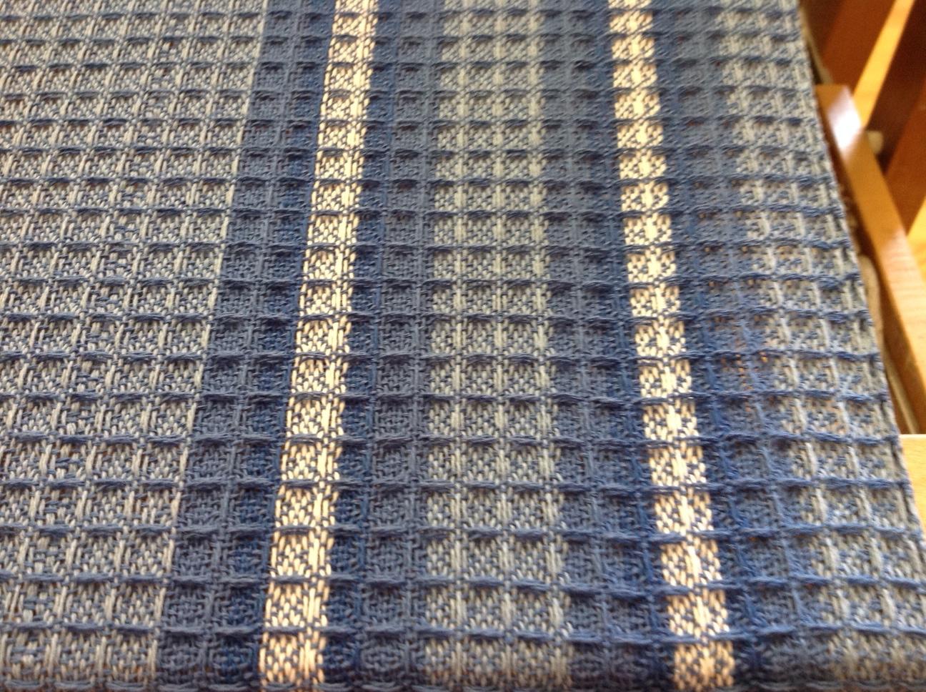 Incroyable Halcyon Waffle Weave Dish Towels Close Up The Halcyon Waffle Weave Dish  Towels Kit On The Loom