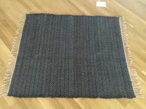 Diamond Twill Jersey Rag Rug
